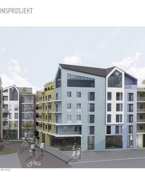STORE PLANER: I Jernbanegata 5 kan det komme et helt nytt kvartal.