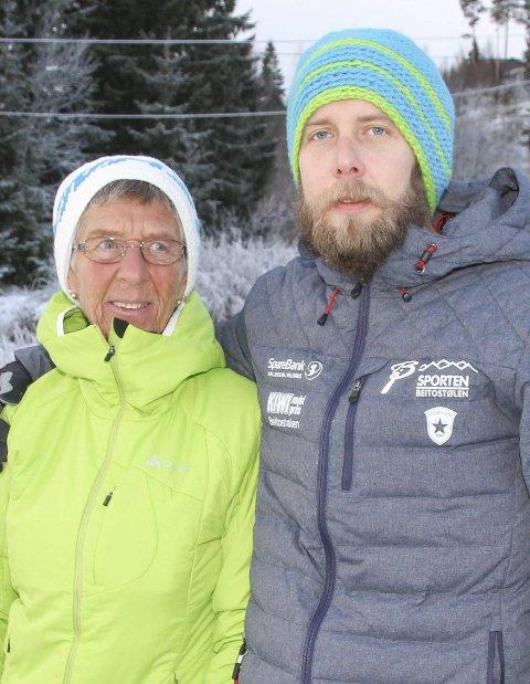 LOKALE LEDERE: Stian og Bente Godli i MS-foreningen på Hadeland.ARKIVFOTO