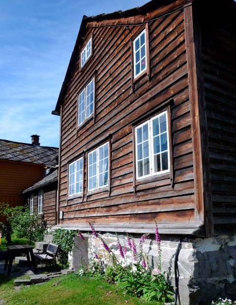 Tilskot: Lensmansstova i Agatunet. Arkivfoto
