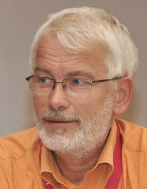I kontrollutvalget: Bygningssjef Per Arstein orienterte kontrollutvalget.