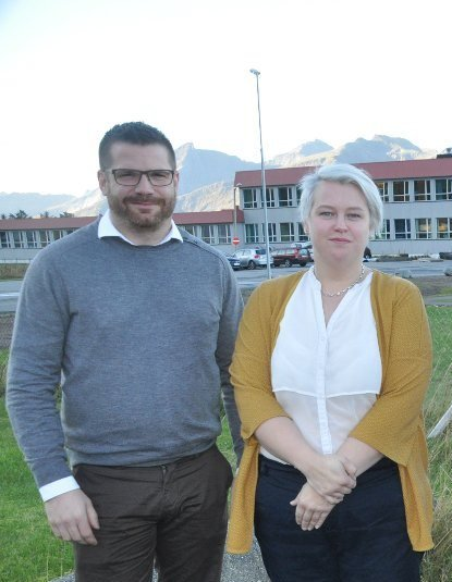 FORSLAG: Hans Fredrik Sørdal og Anne Birgith Mørkved ble valgt med seks mot fem stemmer som Flakstads kandidater til styret i Lofotenodden najsonalpark.