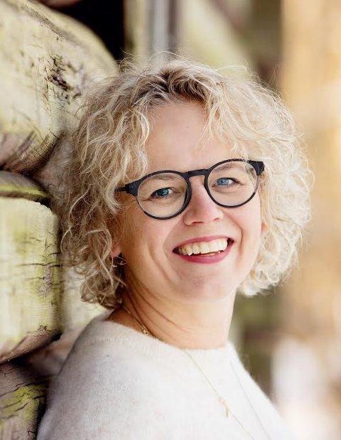 TRYGG: Eline Aas orienterte om prøveprosjektet, SAFE, Trygg ved livets slutt, som Moss kommune er med i.
