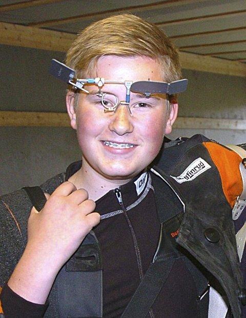 249 x 2: Aleksander Bech Lund fra Askim skjøt 249 poeng i begge stevnene. ARKIVFOTO