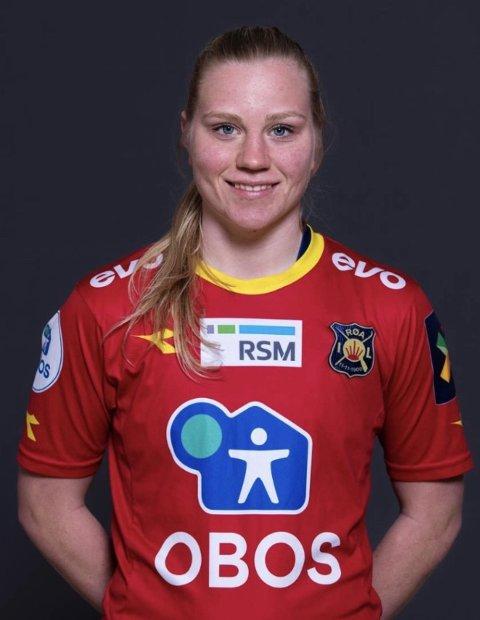 SENTRAL: Linn Huseby har hatt en bra sesong selv om laget har slitt. Hun opplevde før helga at cupfinaledrømmen gikk fløyten.