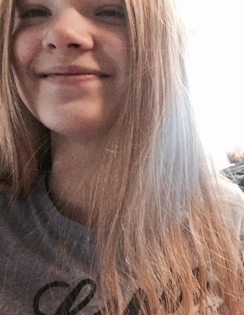 Marte Stokseth, elev ved Rothaugen skole (14 år).