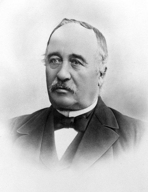 BYGGHERRE: Herman Frang oppførte huset i Høyensalgata.