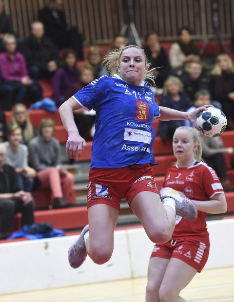 SERIEFINALE: Madelen Bringaker og Skrim vil vinne i Bergen og bli seriemestere.