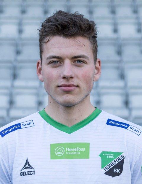 Jameson kommer fra Hønefoss, det han står med 19 kamper og ett mål. Han har også en fortid i Vålerengas junioravdeling.