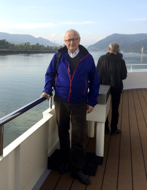 Historielagsleder: Helge Møller, leder Alstahaug historielag forteller fredag om historiearbeid i Alstahaug. Det skjer på Petter Dass-museet.Foto: privat