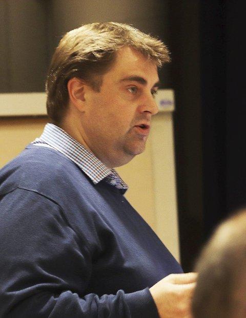 Vant fram: Espen Watne Andresen (Mdg) fikk flertall for at eiendomsskatt for næring skal utredes og ettersendes som vedlegg til budsjettforslag for 2021. Foto: Pål Nordby