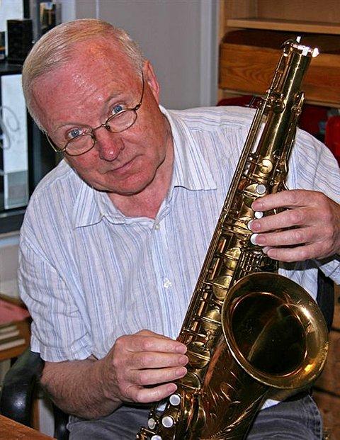 Helge Hurum. Jazzmusiker, komponist, arrangør og orkesterleder.