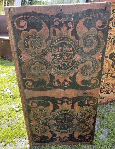 KISTE: Lenge lurte Tor Dale Svendsen på hvor denne kista kom fra i Tinn.