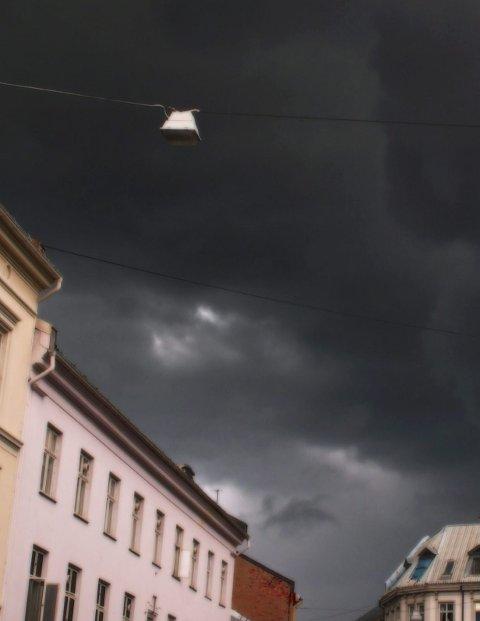 De fleste høye bygninger har lynavledere. Foto: NTB scanpix