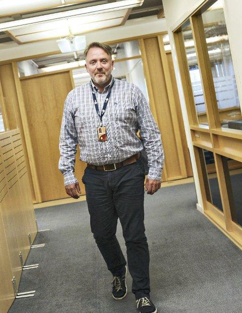 Effektiv: Rolf Sæter i Shell på Råket har ansvar for å effektivisere selskapets drift.
