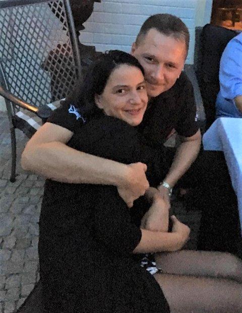 På vei til Norge: Marco og Janine vil bosette seg i Tvedestrand neste år.