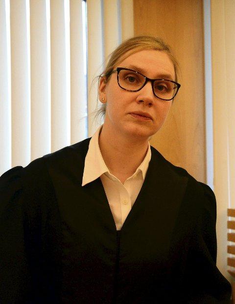 Aktor, politiadvokat Marit Olsen Heggstad.
