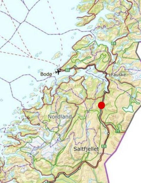 Saltdal er på Robek-listen.