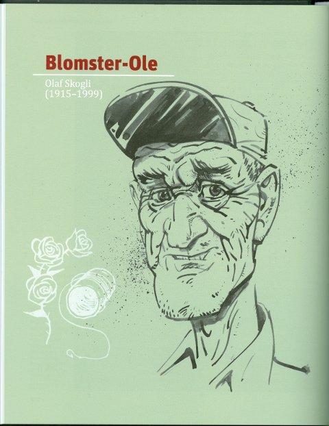 Bok: Om Blomster-Ole med røtter fra Hadeland.