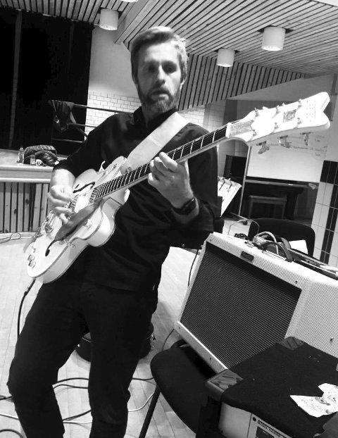 Gitarist: Vidar Lynghammar og Odda Allstars skal hylle Dylan.