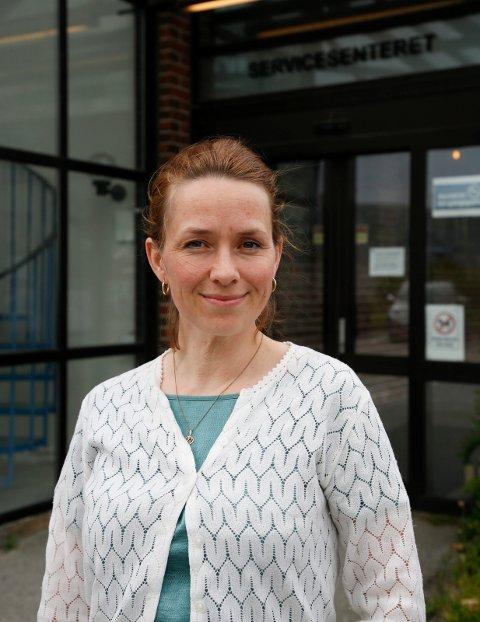 Administrasjonssjef i Haugesund Teater, Hanne Eidsvåg Andersen.