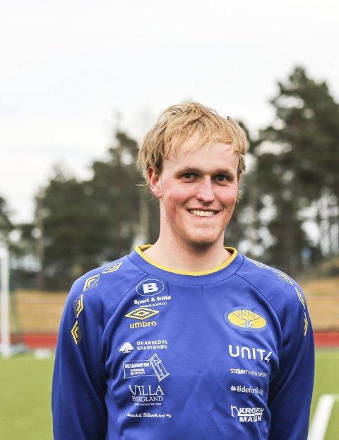 Kaptein: Simen Rosland er årets Kroken-kaptein.