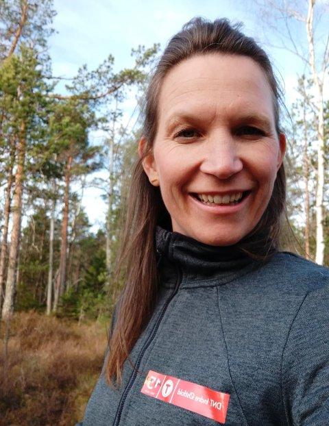 Konkurranse: Barnas Turlag i DNT Indre Østfold følger opp suksessen fra i fjor og henger opp Turboposter på en rekke steder i Rakkestad, forteller Anne-Lill Johansen..