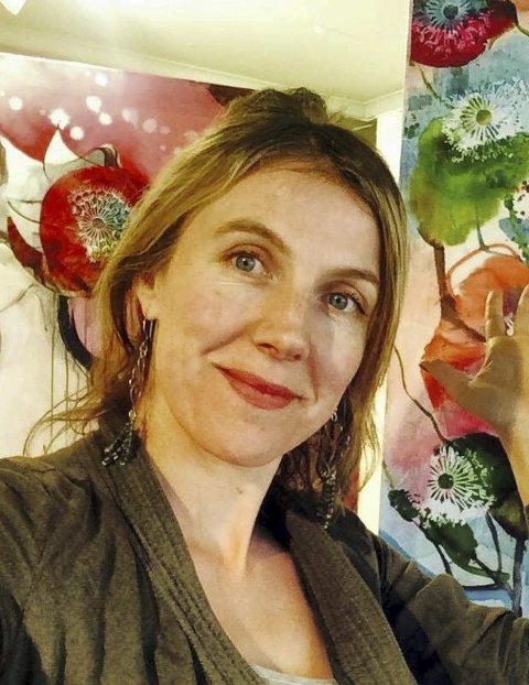 Maler live: Kunstner Verena ST. Waddell.