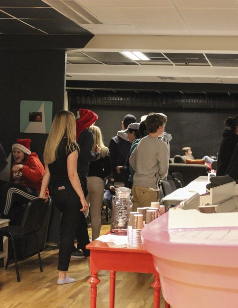 Godt besøkt: Ungdommens kulturhus i Eidsberg er flittig brukt av ungdommene.