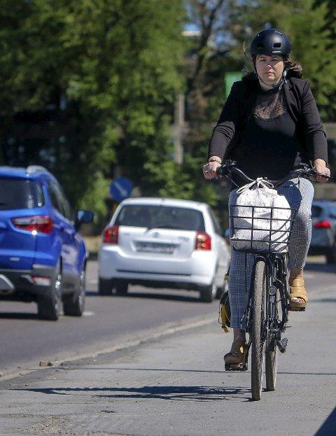 På to hjul helt frem: Sykkelen.