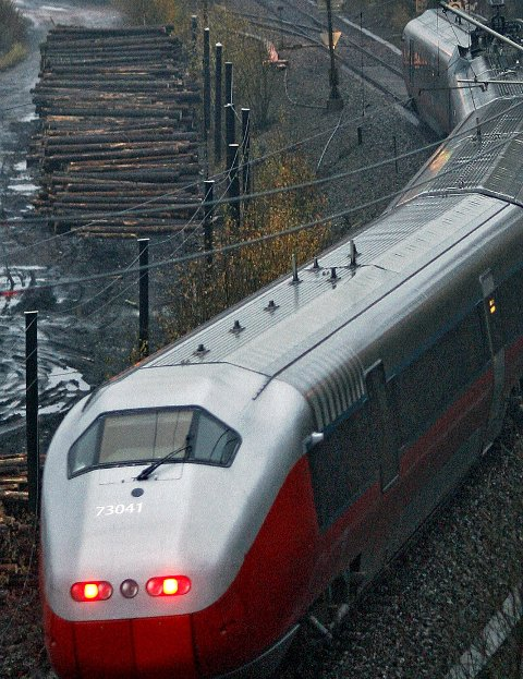 Aktuelt: Rygge er i søkelyset for en fremtidig togparkering.