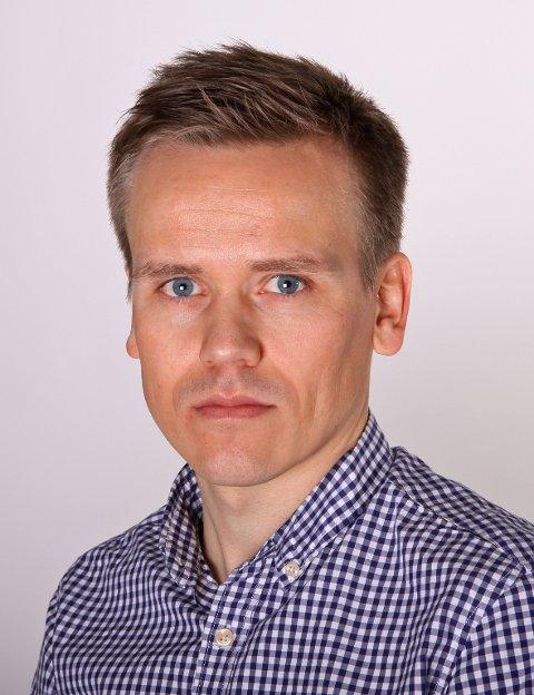 Marius Iversen, kommunikasjonsdirektør i PBL