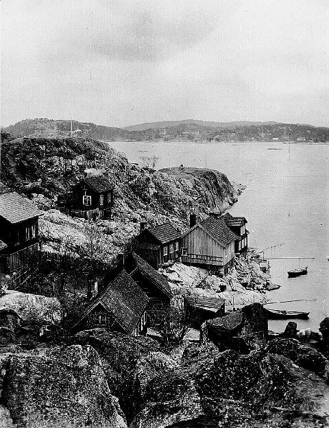 Urene på Øya i 1902