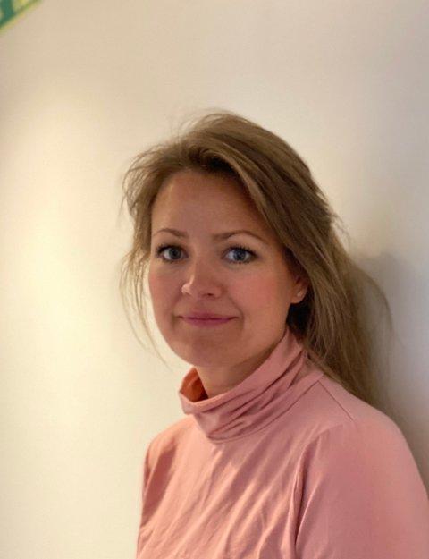 Kommuneoverlege i Vestvågøy, Eva Nordberg.