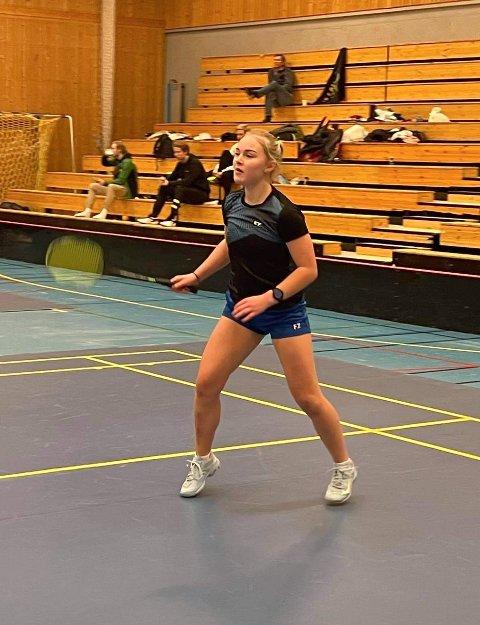 SYK OPPLADNING: Ingrid Gåsbakk var syk i tre uker før NM. Derfor hadde hun små forventninger om å prestere høyt på listene i en tøff konkurranse.