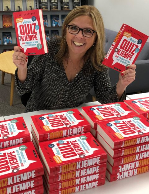 Anne Gaathaug er produktiv. I 2020 ga hun ut Annes Quizkjempe, og nå er hun i innspurten med nytt manus.