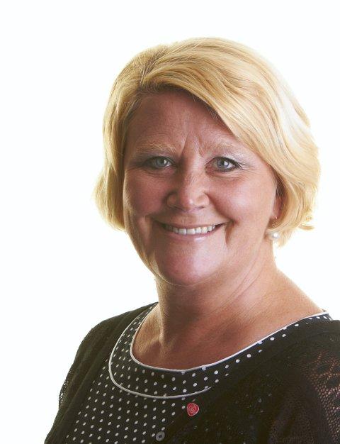 Helt sjef: Fylkesråd for utdanning, Hild-Marit Olsen.