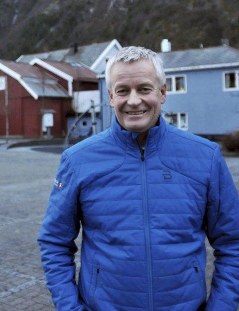 FOLK I AKTIVITET: Banksjef Atle Edvardsen har erfaring med treningsapp i egen bedrift.