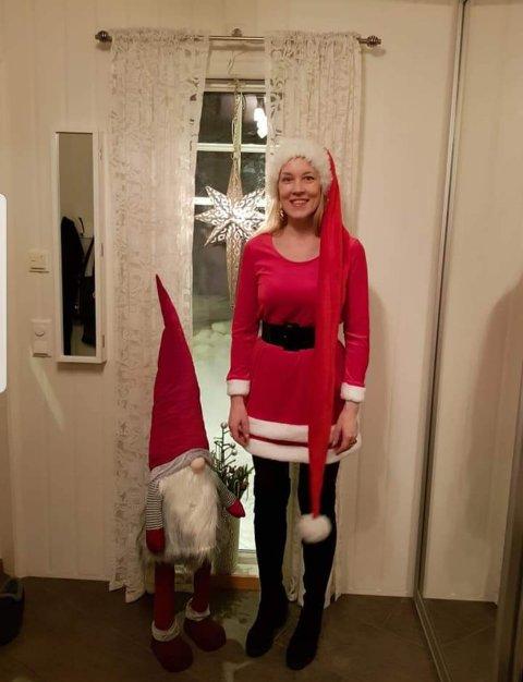 JUL: Arianne Heitmann Beckmand er juloholiker.