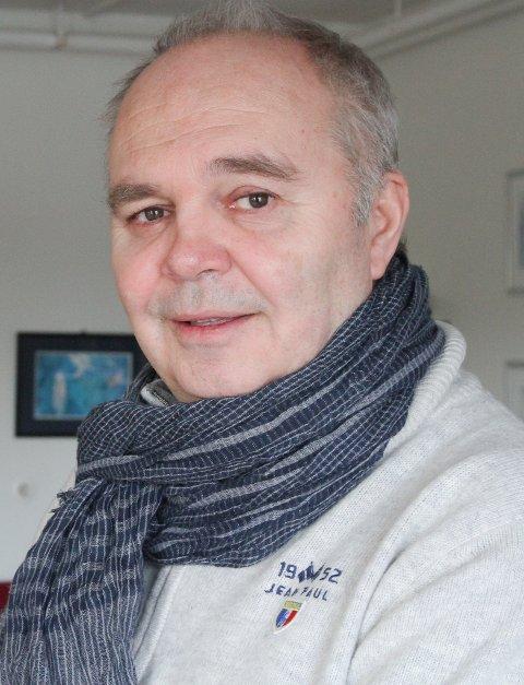 STOR FEST MARKERER FLORA-UTGANGEN: Trond Ramstad Olsen, personalsjef I Flora kommune, byr Flora-tilsette på storfest 11. januar for å markere at Flora er historie og Kinn er framtida.