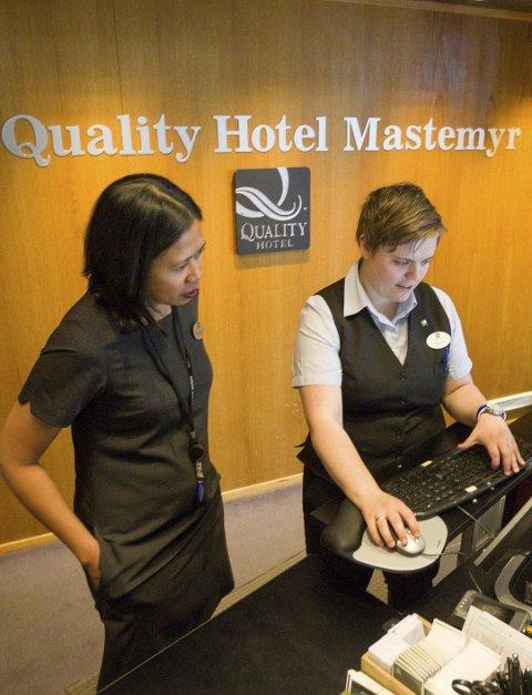 SLUTT: Quality Hotel Mastemyr var blant hotellene som ble rammet av streiken.