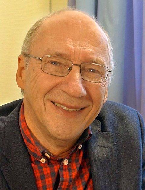 FOREDRAGSHOLDER: Inge Eidsvåg kommer til Kongsberg for å snakke om døden.