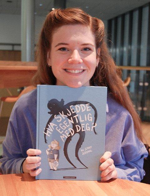 INNSIKTSFULL: Jenny Jordahl har skrevet en innsiktsfull og sterk bok om kroppspress, beregnet på barn fra 10-12 år og noen år oppover.