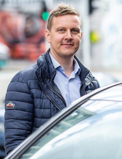 Roger Ytre-Hauge er fagsjef hos Frende Forsikring.