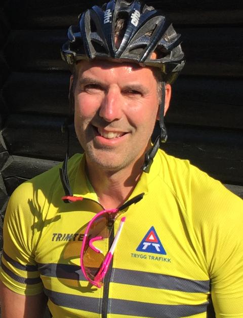 Paal-Gunnar Mathisen er distriktsleder i Trygg Trafikk i Østfold.