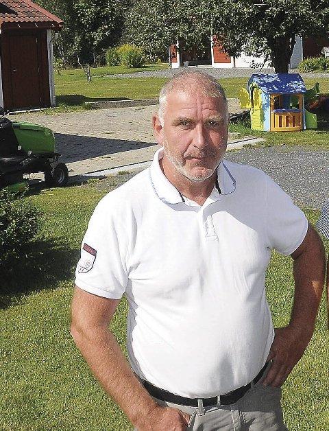 Satset: Jan Lindal sikret seg ei stor tomt på Nes Verk i 2014, og hadde god tro at på at folk ville kjøpe leiligheter her. Han planla opptil 16 leiligheter, fordelt på tre bygg.Arkivfoto