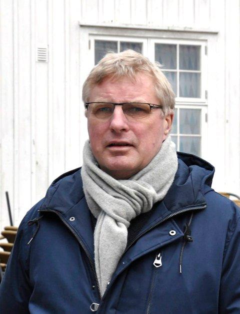 EN BEGYNNELSE: Hans Knudsen går inn på investorsiden, sammen med sin samboer Elin Westrum.