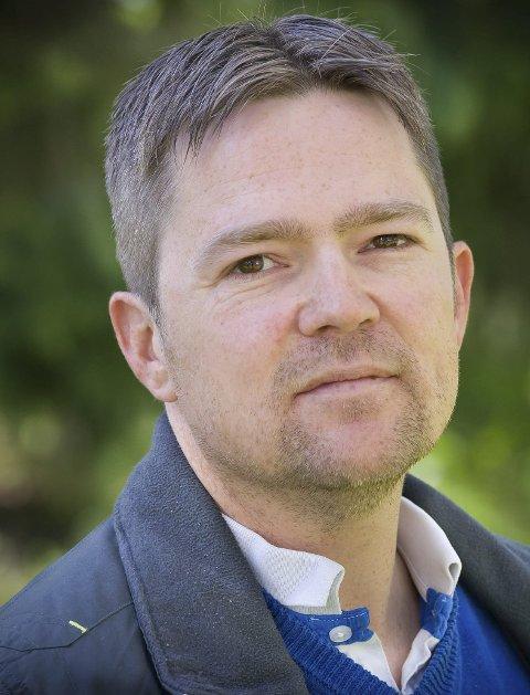 Litt overrasket: Petter Rundén i Sør-Odal Bygdeliste. foto: jens haugen