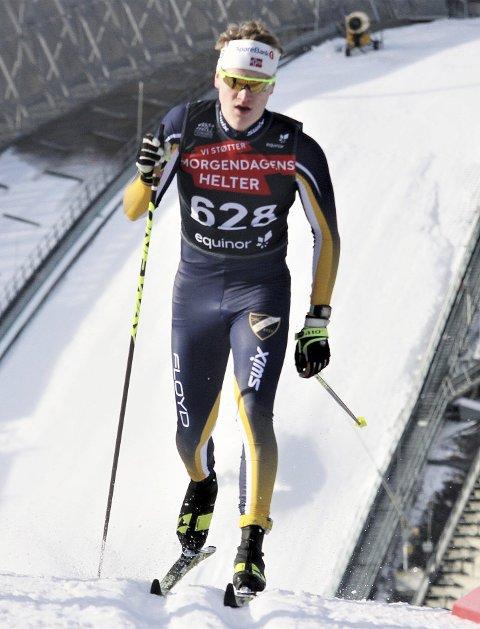 Sesongen over: Lars Håkonsen var godt forberedt og så fram til å gjøre en god figur i junior-NM da det kom beskjed om at arrangementet var avlyst. Foto: Svein Halvor Moe