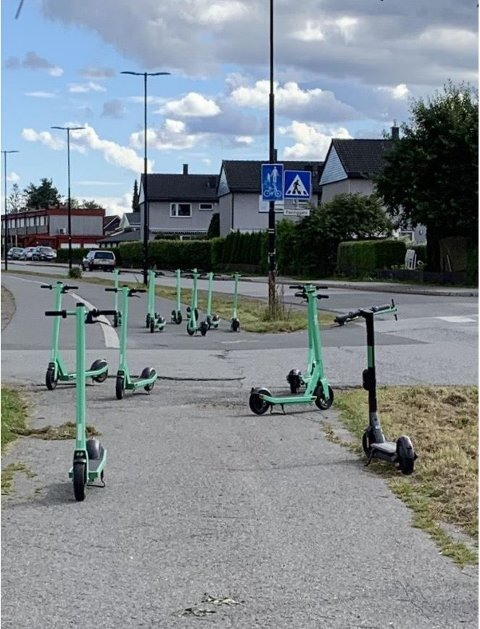 TIL HINDER: Dette har blitt et dagligdags syn i Vestbygata.