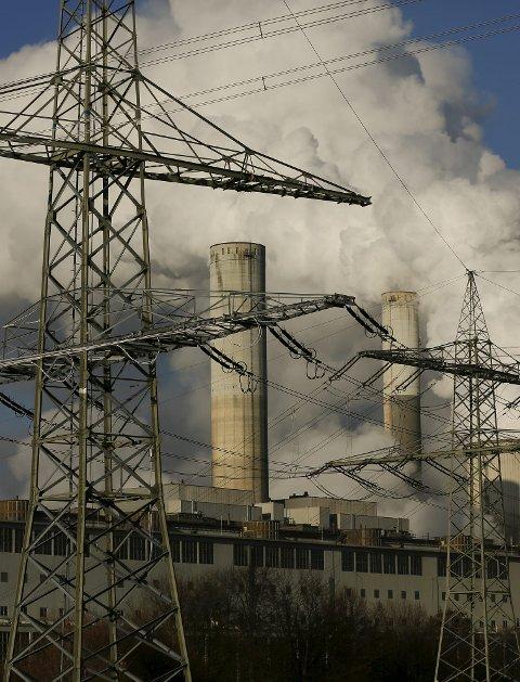Forurenser: Kull er verstingen. foto: scanpix